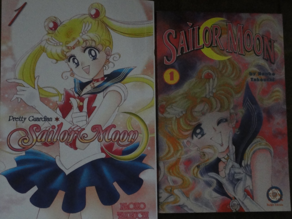 Manga Review: Sailor Moon Vol. 1, Kodansha vs. Tokyopop (3/5)