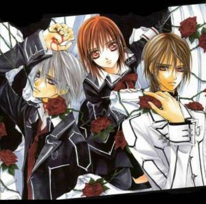 Blood Soaked Love Triangle: Vampire Knight