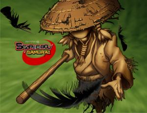 Scarecrow Samurai (Image taken from http://kobayaghi.com/games)