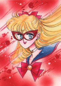All the single ladies stay beautiful and confident like Sailor V!