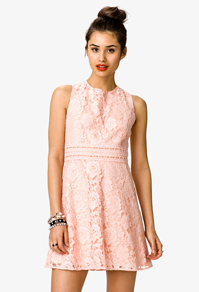 This lovely Forever 21 dress is an example of the colors you will see this year
