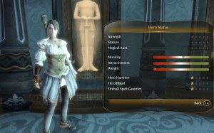 Fable 3 character stats