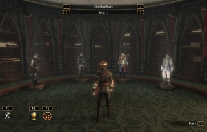Fable 3 sanctuary dressing room