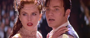 Nicole Kidman & Ewan McGregor in Moulin Rouge
