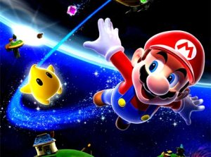 You may be happy now to travel from galaxy to galaxy, Mario, but you didn't warn us about how agonizing it would be to get the stars and save Peach!