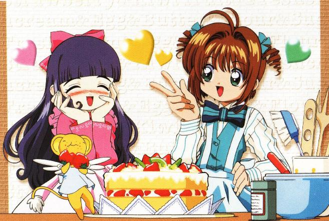 Sakura, Tomoyo, & Kero-chan are besides themselves with joy to know the blog has turned two!