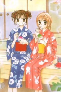 Ayu (left) and Nina (right)