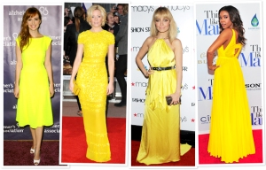 Get a mood boost by wearing yellow this summer.