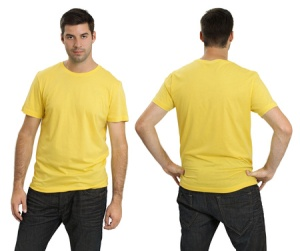 Even men can make yellow look good.