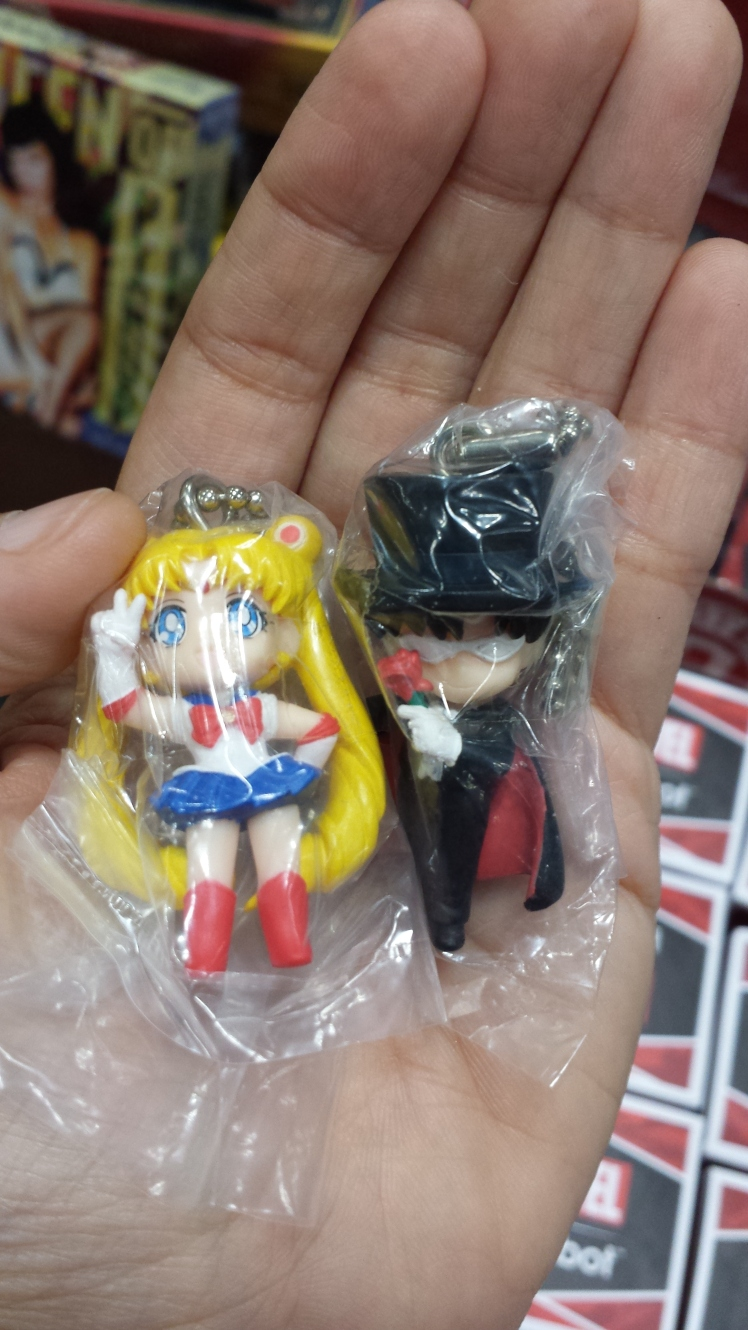 The only Sailor Moon merch I bought. Sailor Moon needed Tuxedo Mask by her side.