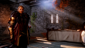 I can't wait to have my Inquisitor get you in be––I mean get to know you better, Cullen. Yeah, that's it.