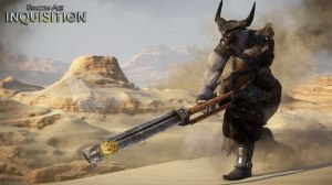Nothing excites Iron Bull more than slaying a dragon.
