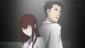 Kurisu Makise & Okabe
