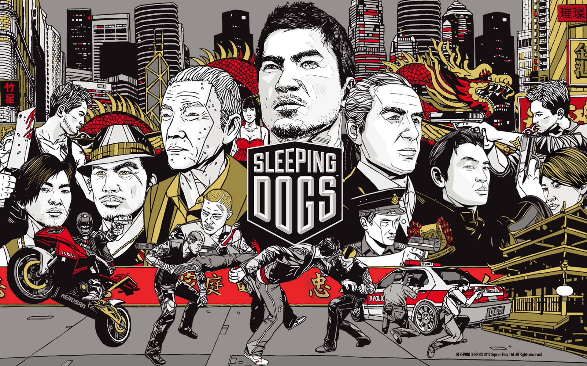 my Time With Sleeping Dogs Has