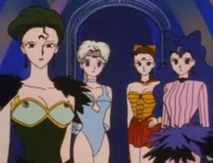 Specter Sisters from the '90s Sailor Moon anime.