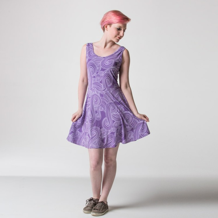 The new Tali inspired skater dress.