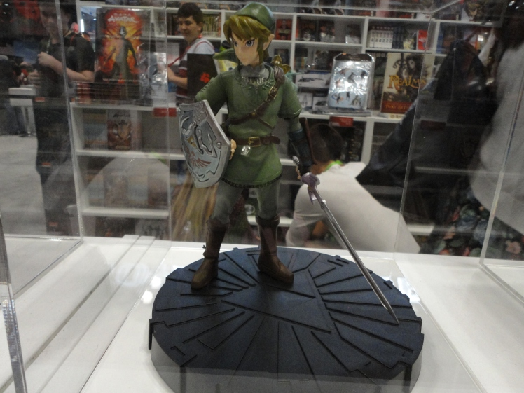 A really cool Link figurine.