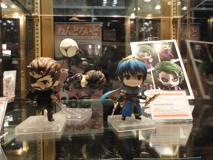 I instantly fell in love with the chibi-figurine of Phantom Pain Solid Snake pictured here. Cute!