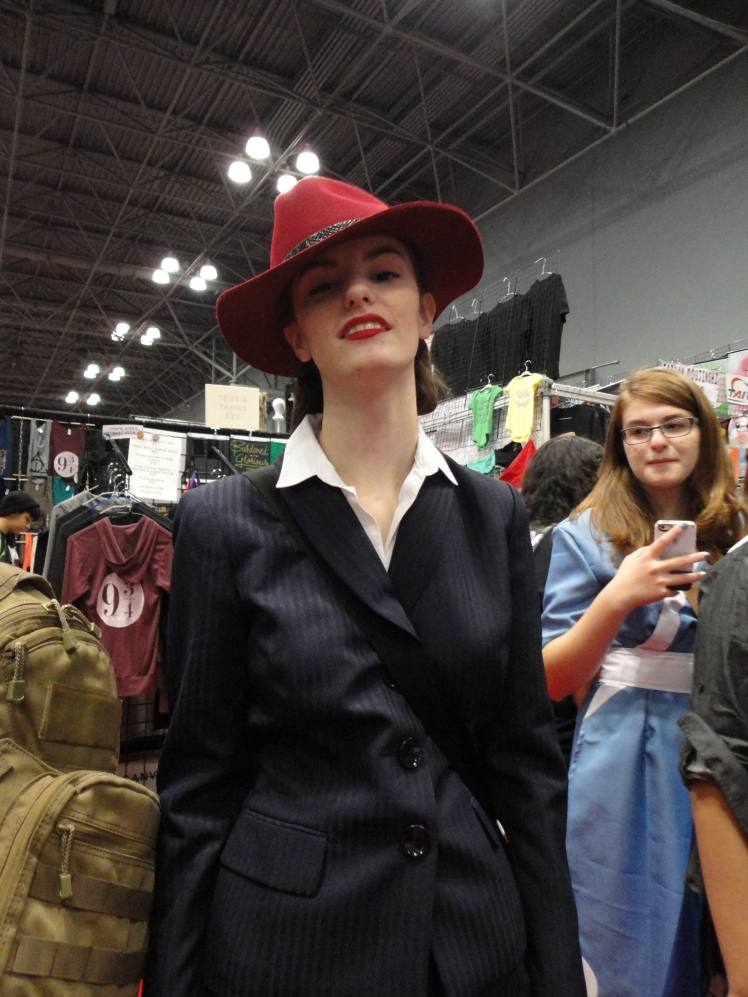 Peggy Carter looking cool and classy.