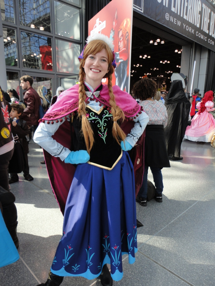 I found Anna from Frozen!