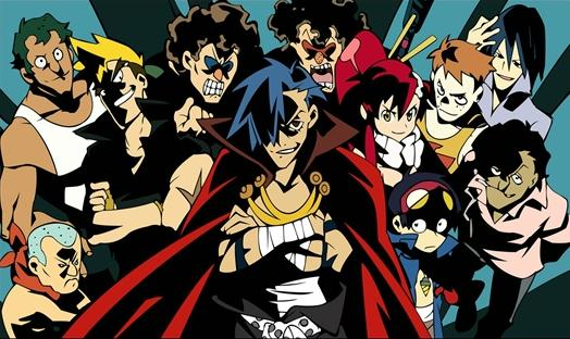 gurrenlagann_cast