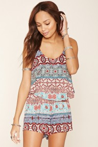 As cute as this romper is from Forever 21, I sort of feel like I'd look too childish wearing this somehow.