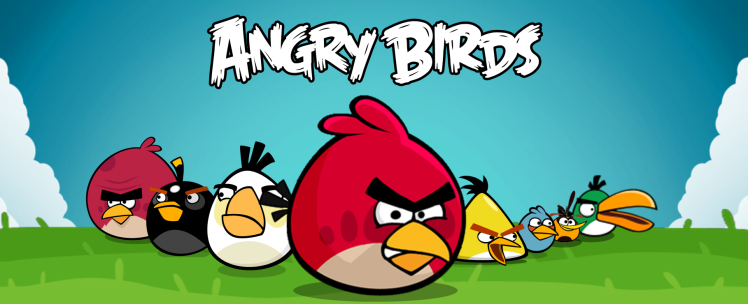 A bunch of angry birds who are...er...mad as hell and won't take it anymore?